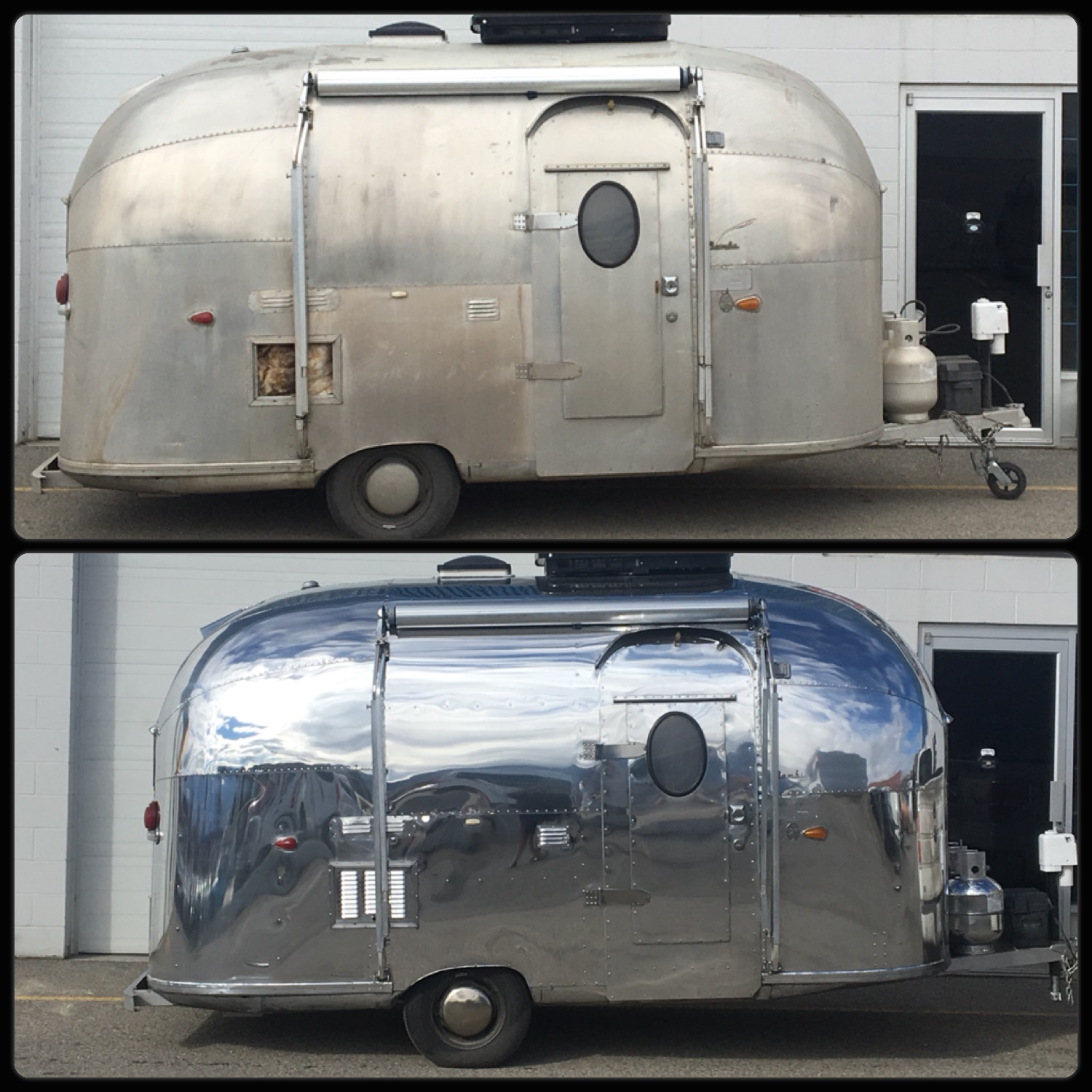 airstream trailers select coatings polishing. Black Bedroom Furniture Sets. Home Design Ideas
